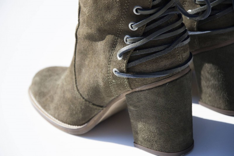 COSTES - Boot Leather Lace Up