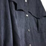Zwarte suède blouse - Fliex   Label of Suze