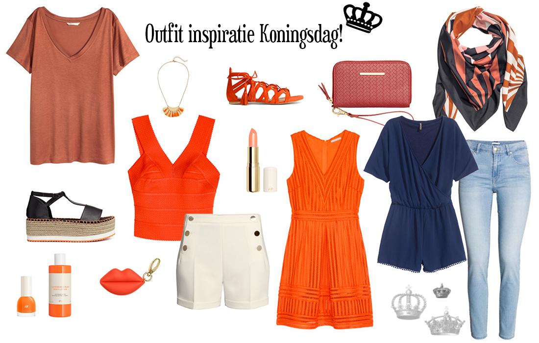Outfit inspiratie voor Koningsdag 2016!